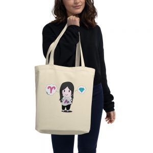 Autumn Asphodel Chibi Eco Tote Bag