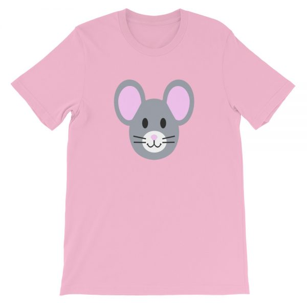 Roostah The 2 Pink Rat Short-Sleeve Unisex T-Shirt (Lilac)