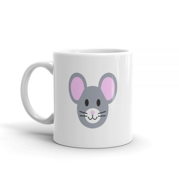 Roostah The 2 Pink Rat Mug (11oz)
